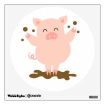 Kids Wall Art - Animals - Pig Wall Decal