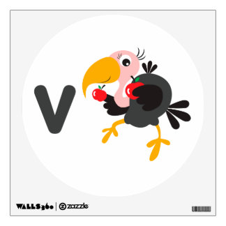 Kids Wall Art - Animals - Vulture Wall Sticker