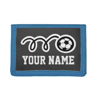 Kids wallets for boys and girls | Soccer sport