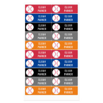 Kids Waterproof School Daycare Baseball Boys Kids' Labels