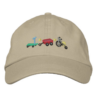 Kid's Wheels Embroidered Baseball Hat