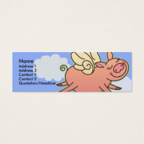 Kids When Pigs Fly Skinny Profile Cards