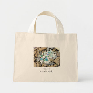 Kids will Save the World! tote bags Beach Ocean