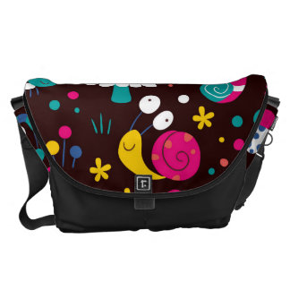 Kids World, Nature - Insects, Snails, Messenger Bag