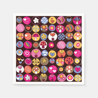 Kids World, Nature - Insects, Snails, Napkin