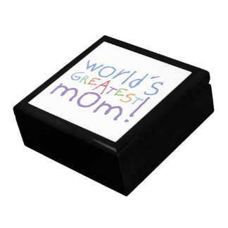 Kids World's Greatest Mom Keepsake Gift Box