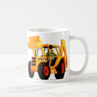 Kid's Yellow Digger Coffee Mug