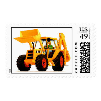 Kid's Yellow Digger Postage