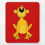 Kid's Yellow Monkey Mousepads