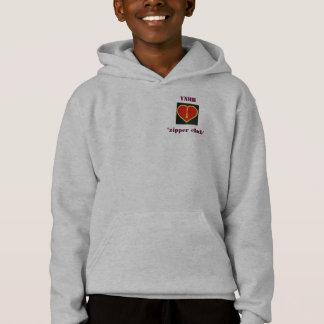 "Kids ""YNHH Zipper Club"" hoodie"