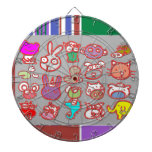 KIDS ZOO : Animal Cartoon Collections Dart Board