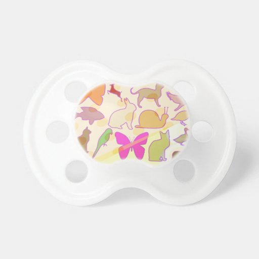 KIDS ZOO : Animal Cartoon Collections Pacifiers
