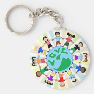 KidsLoveGlobe Keychain