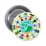 KidsLoveGlobe Pin