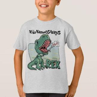 KidsNameOSAURUS Rex Edit with your kid's name! T-Shirt