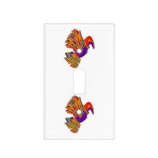 KIDSRoom MatchWall: Pájaros de los dibujos Placa Para Interruptor