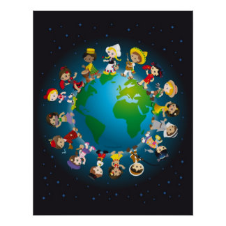 Kidz del mundo póster