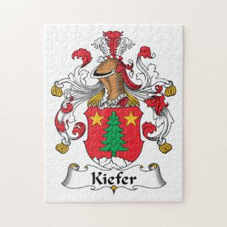 Kiefer Family Crest Puzzle
