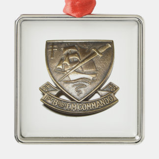 Kieffer commando - Badge 1st BFMC Metal Ornament