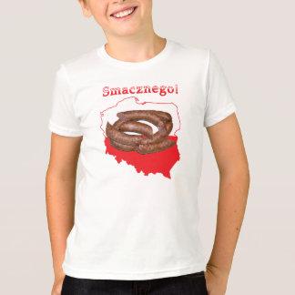 Kielbasa Smacznego Polish Map T-Shirt