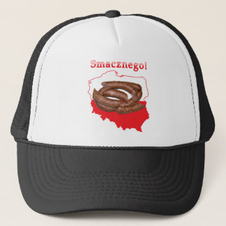 Kielbasa Smacznego Polish Map Trucker Hat