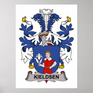 Kieldsen Family Crest Posters