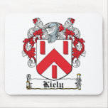 Kiely Family Crest Mouse Pad