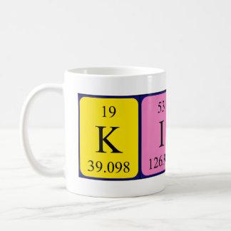 Kierra periodic table name mug