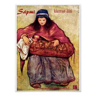 """kierros äiti ~ Sápmi"" Poster"