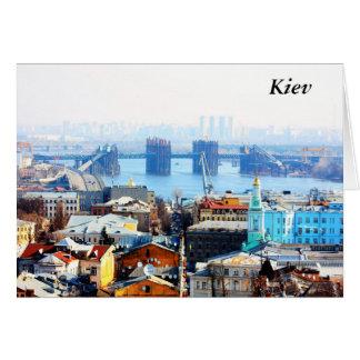 Kiev bussines and industrIal city, Kiev Card