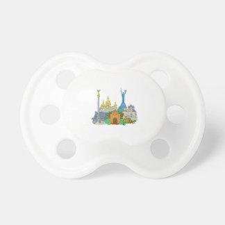 kiev city graphic travel design png pacifiers