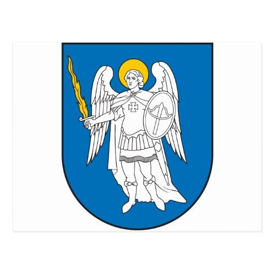 Kiev Coat Of Arms Postcard