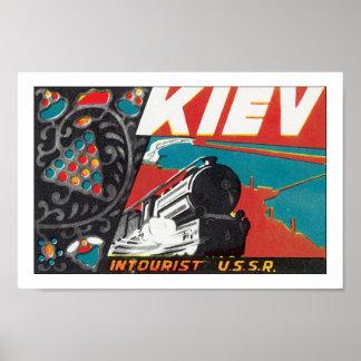 Kiev - Intourist URSS Posters