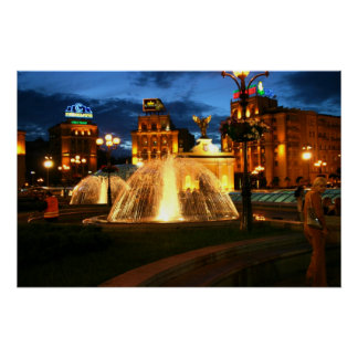 Kiev Nightlife Poster