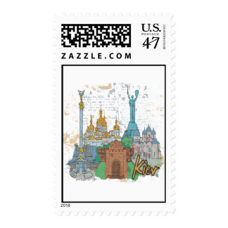 Kiev Postage Stamp