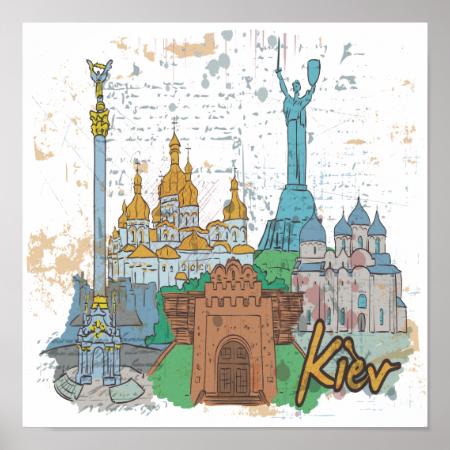 Kiev Poster