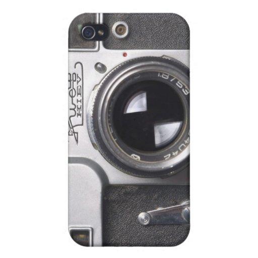 Kiev Rangefinder Iphone Case iPhone 4/4S Cases