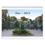 Kiev Ukraine Calendar 2013