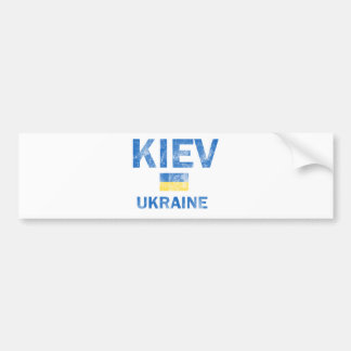 Kiev Ukraine Designs Bumper Stickers