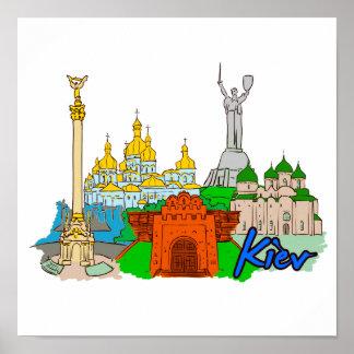 Kiev - Ukraine.png Poster