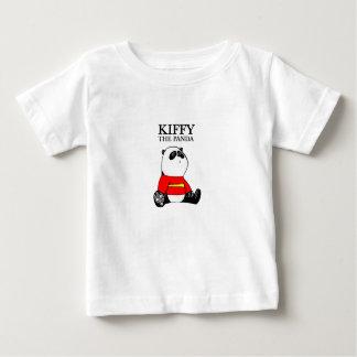 Kiffy la camiseta del bebé de la panda polera