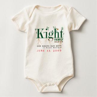 Kight Baby Family Reunion 2009 Baby Bodysuit