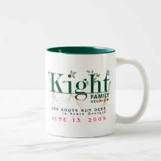 Kight Family Reunion 2009 Two-Tone Coffee Mug