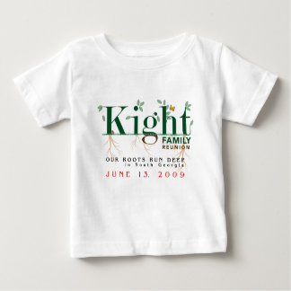 Kight Infant's Family Reunion 2009 Baby T-Shirt