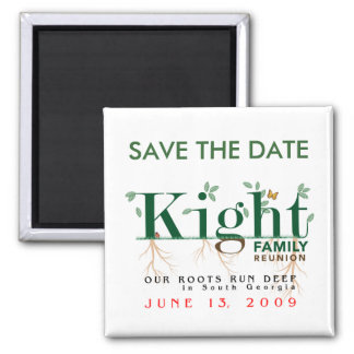 Kight Reunion 2009 SAVE THE DATE Magnet