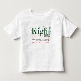 Kight Toddler's Family Reunion 2009 Toddler T-shirt