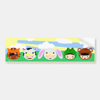 Kigurimi Girls Bumper Sticker