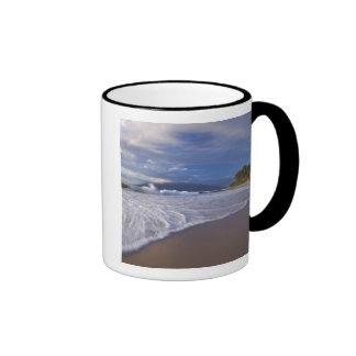 Kihei Beach, Maui, Hawaii, USA Ringer Coffee Mug