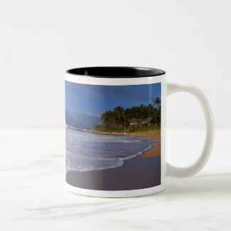 Kihei Beach, Maui, Hawaii, USA Two-Tone Coffee Mug