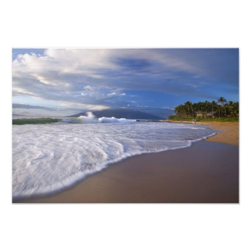 Kihei Beach, Maui, Hawaii, USA Photo Print